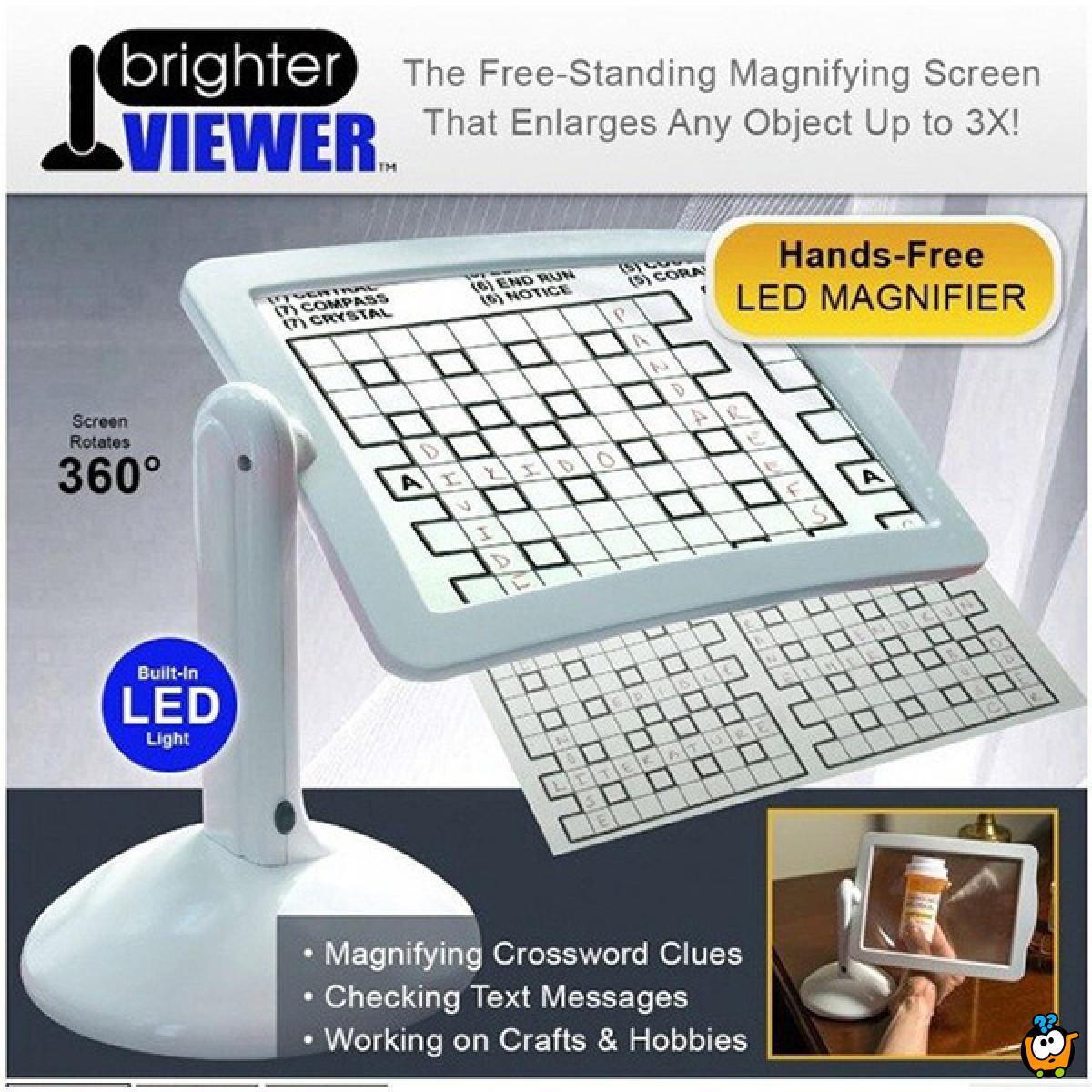 Brighter viewer - Pomoćnik za uveličavanje stvari