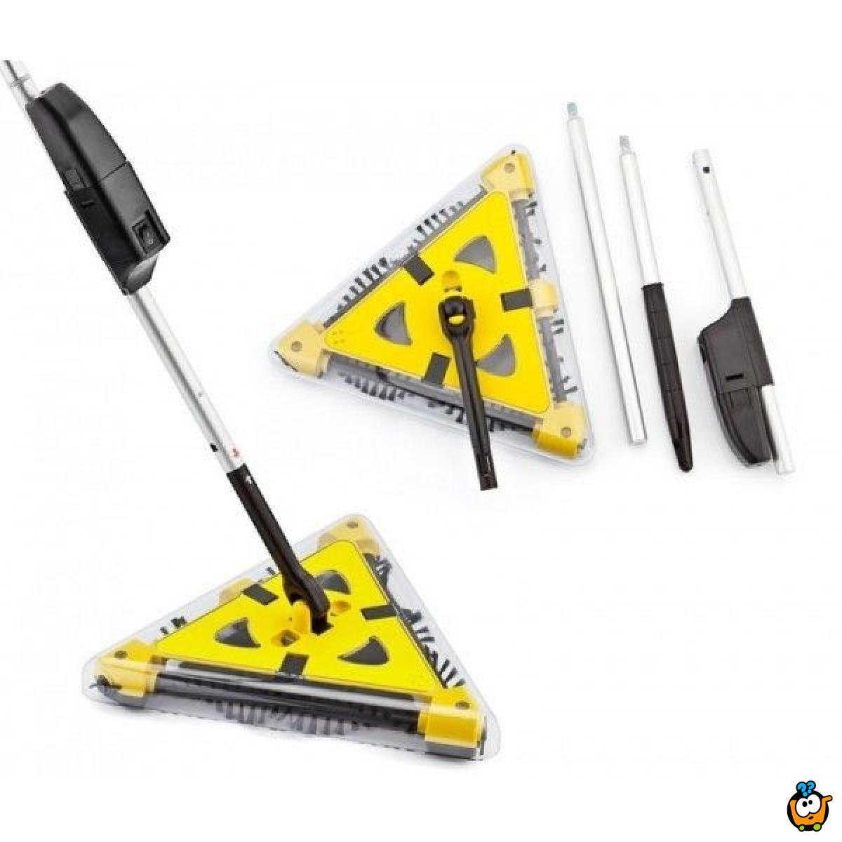 Twister Sweeper - Trouglasti super bežični usisivač