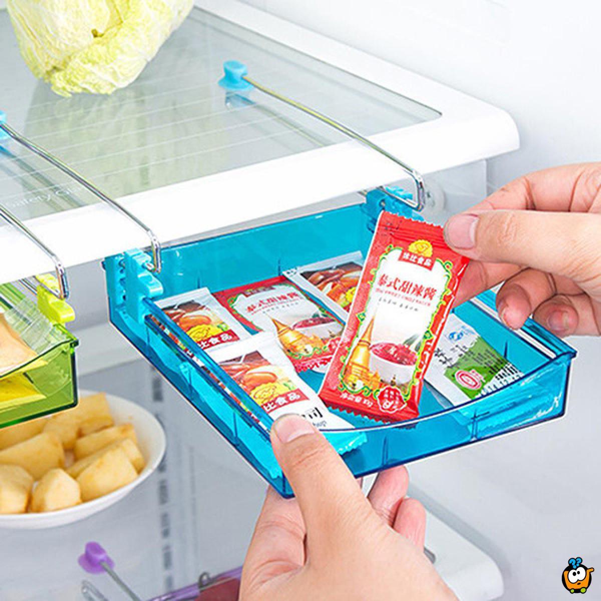 Višenamenski organizer za frižider u obliku dodatne fioke