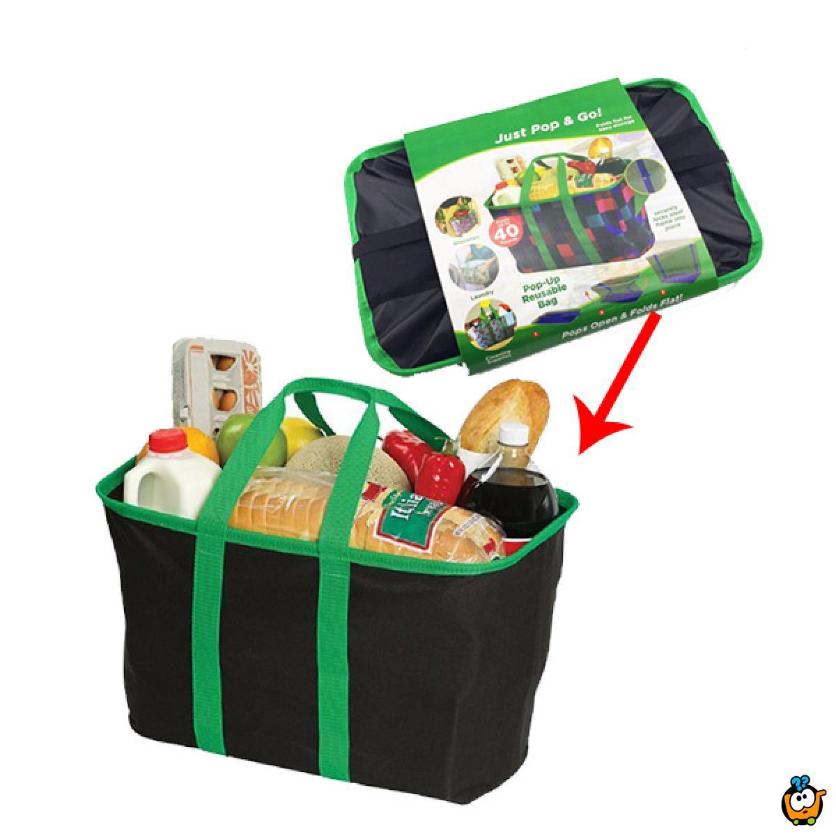 POP BAG - Sklopiva torba za namirnice