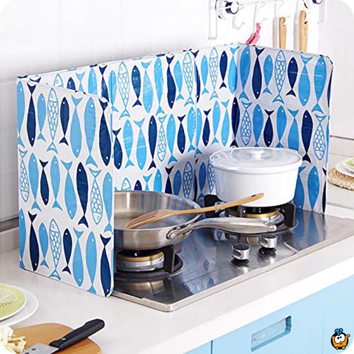 Praktična zaštita od prskanja ulja tokom kuvanja