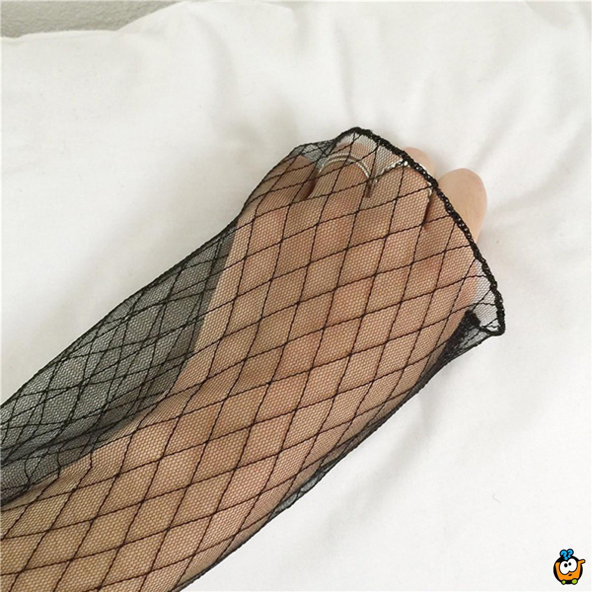 Lepršava transparentna majica - Sexy Romboid