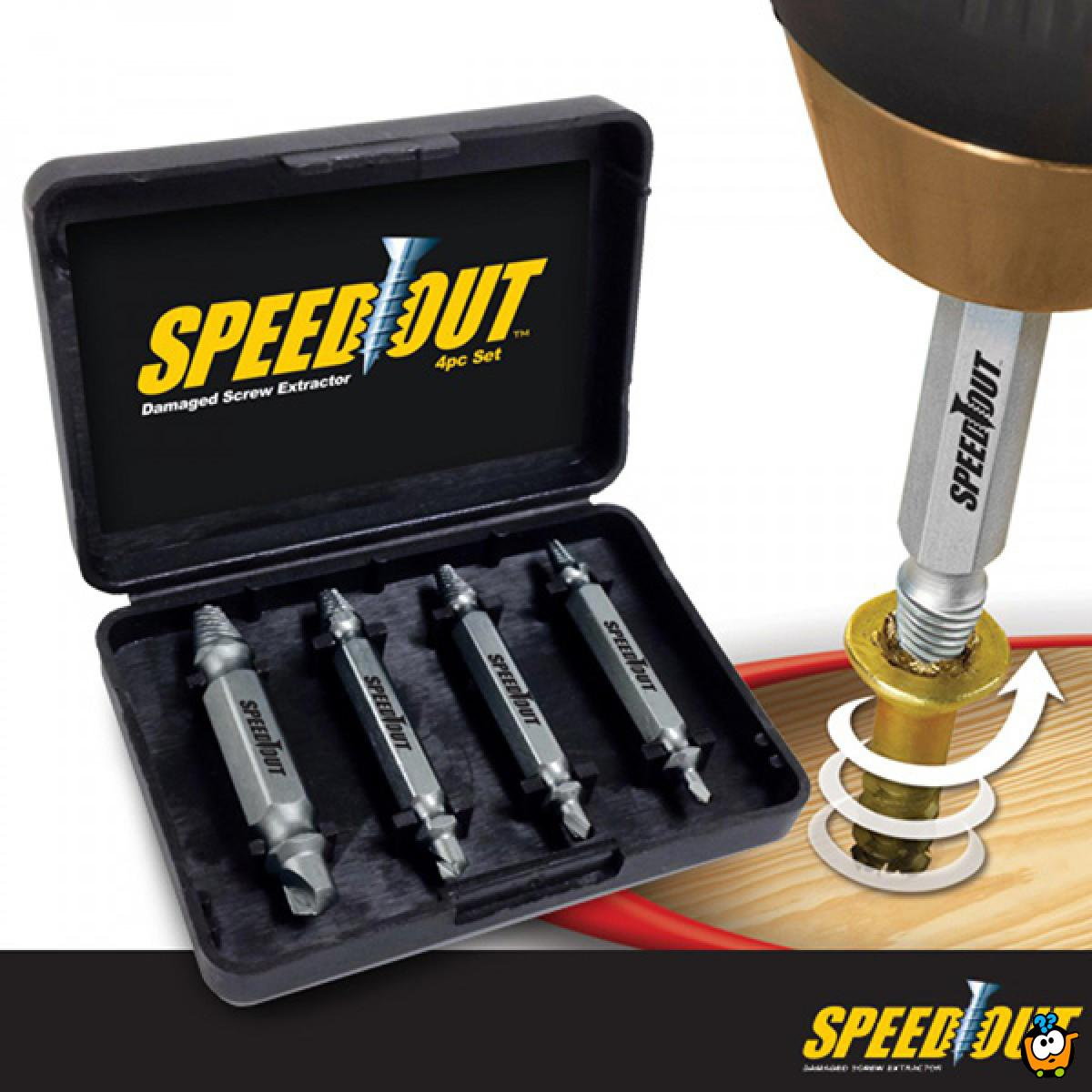 SpeedOut - Odvijač oštećenih šrafova