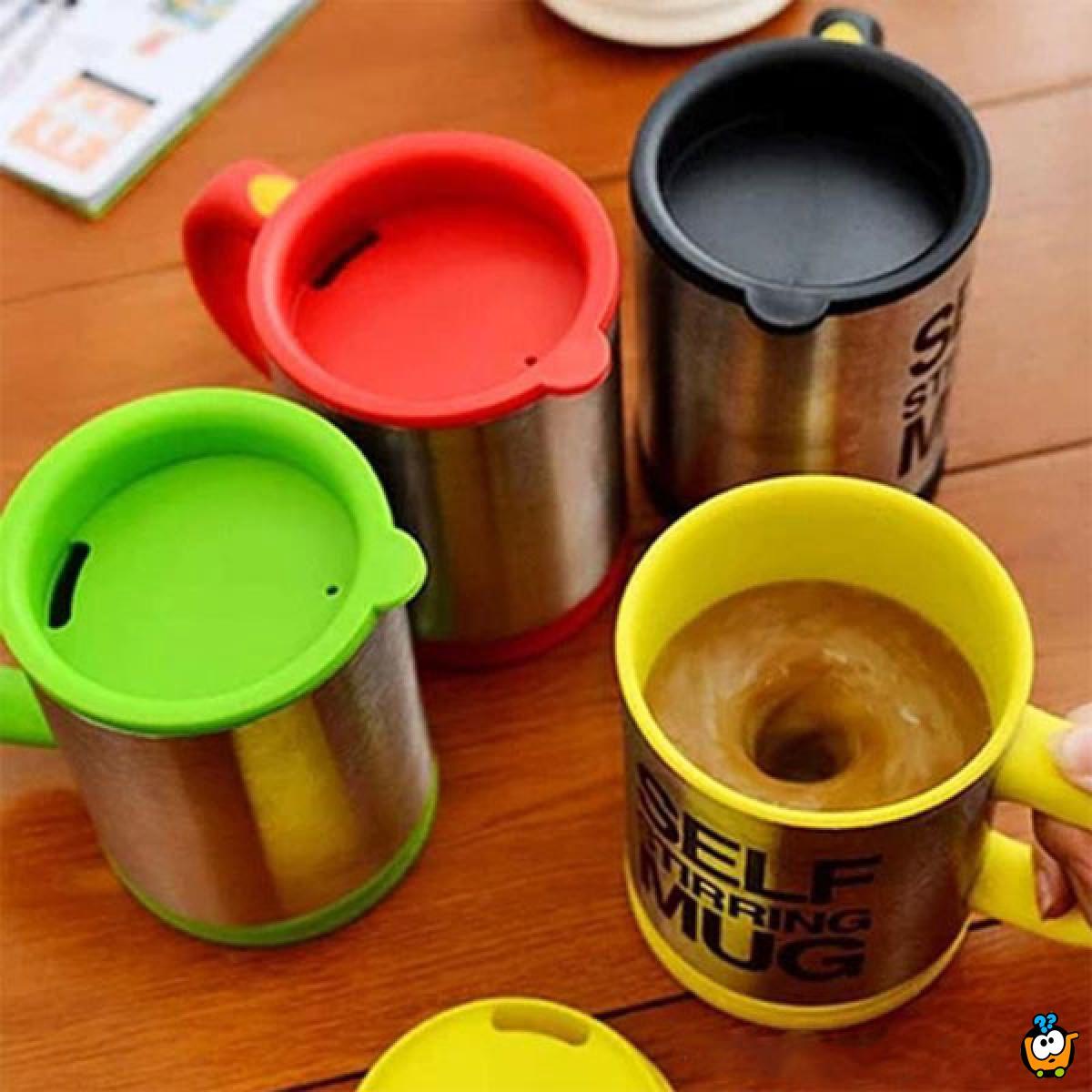 Magična šolja koja sama meša kafu