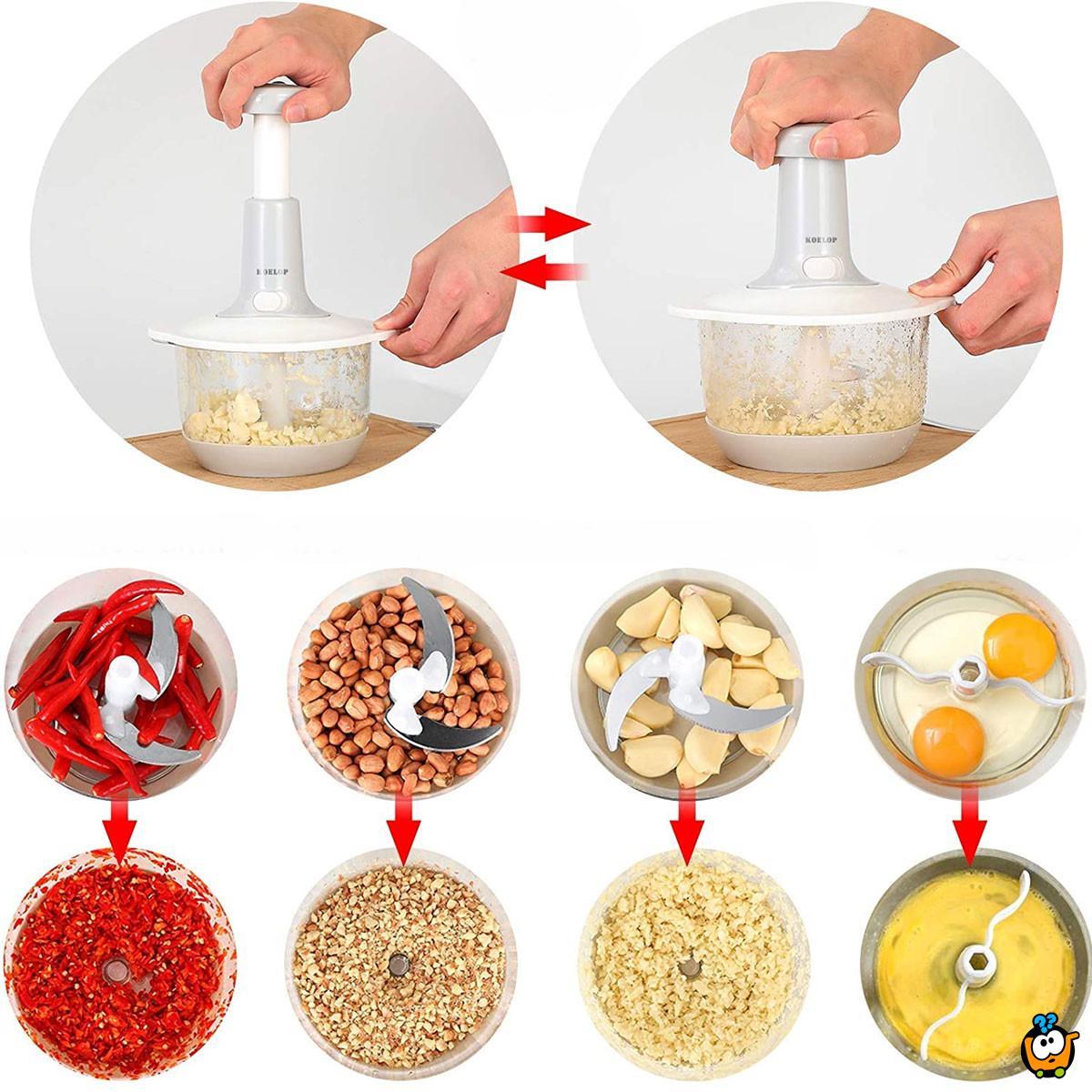 Twist and cut - Ručni secko i pasir hrane