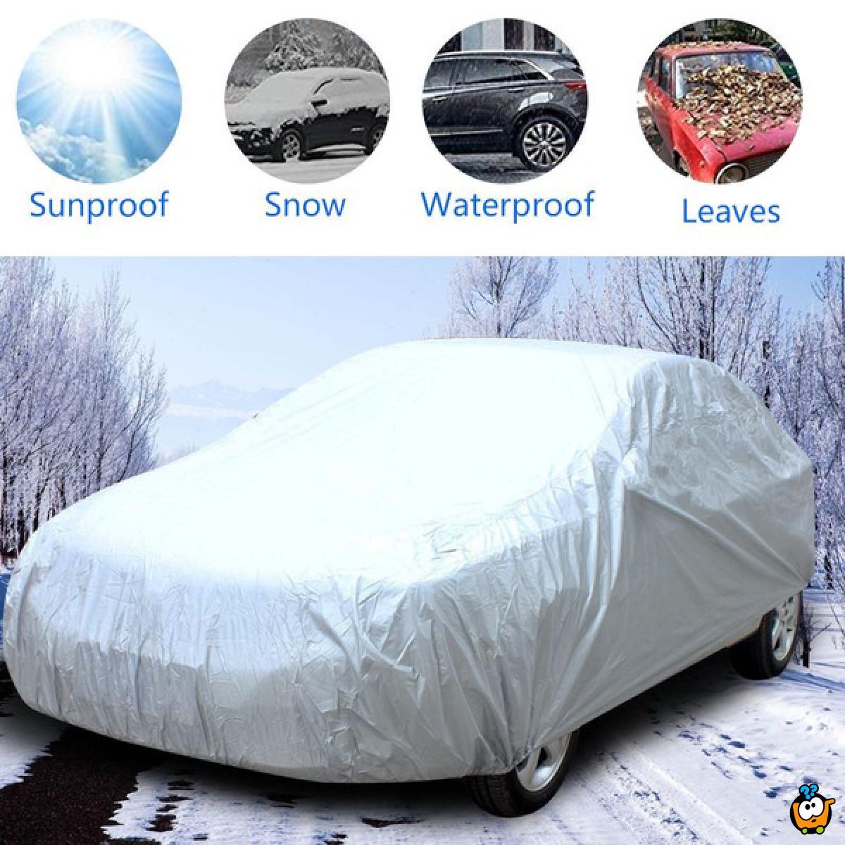 Full car cover - Zaštitna cerada za auto 490 x 180 x 150