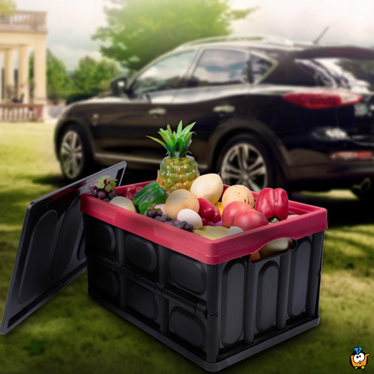 Kutija za skladištenje stvari u automobilu