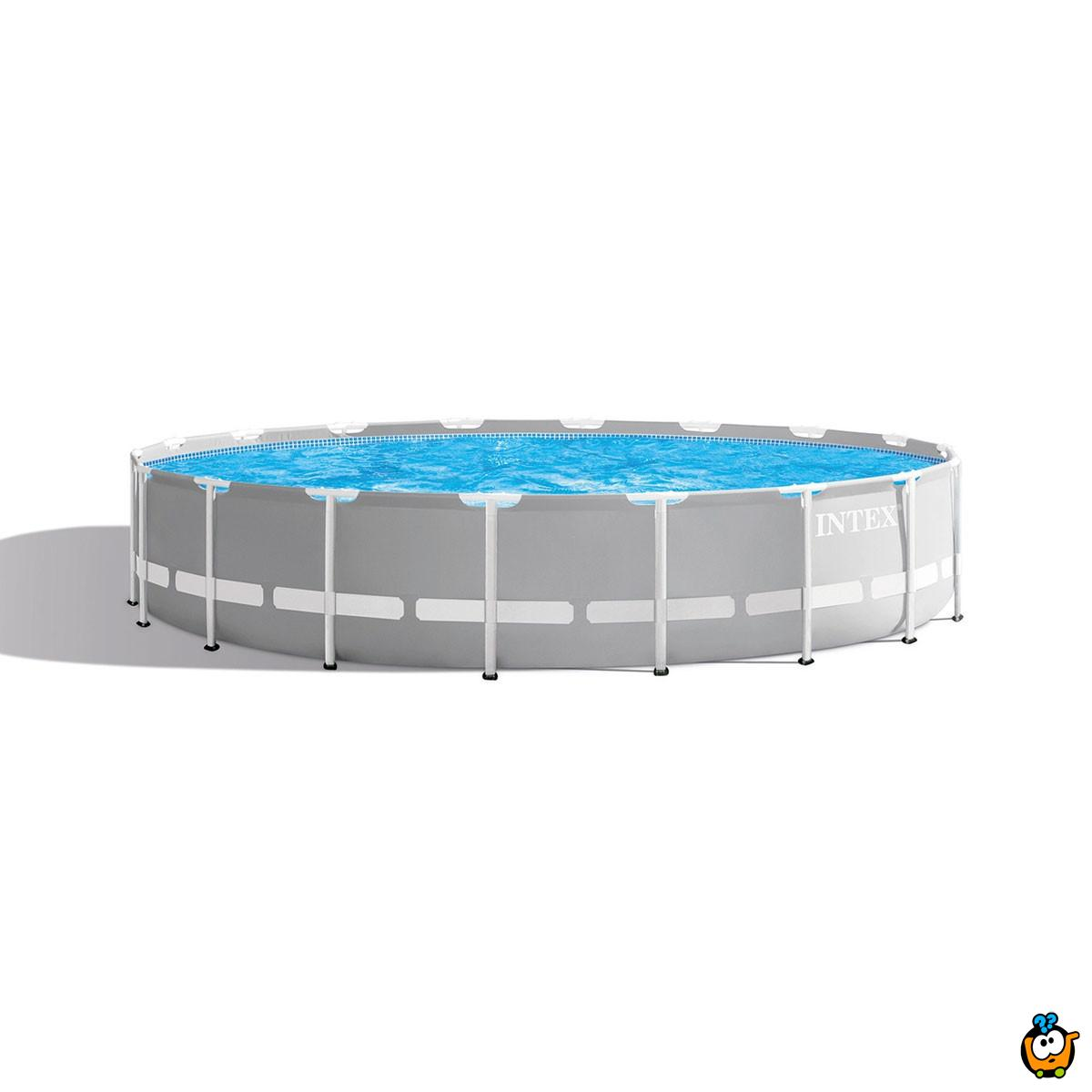 INTEX 26724 Family pool - Veliki okrugli porodični bazen - 4,57m x 1,07m