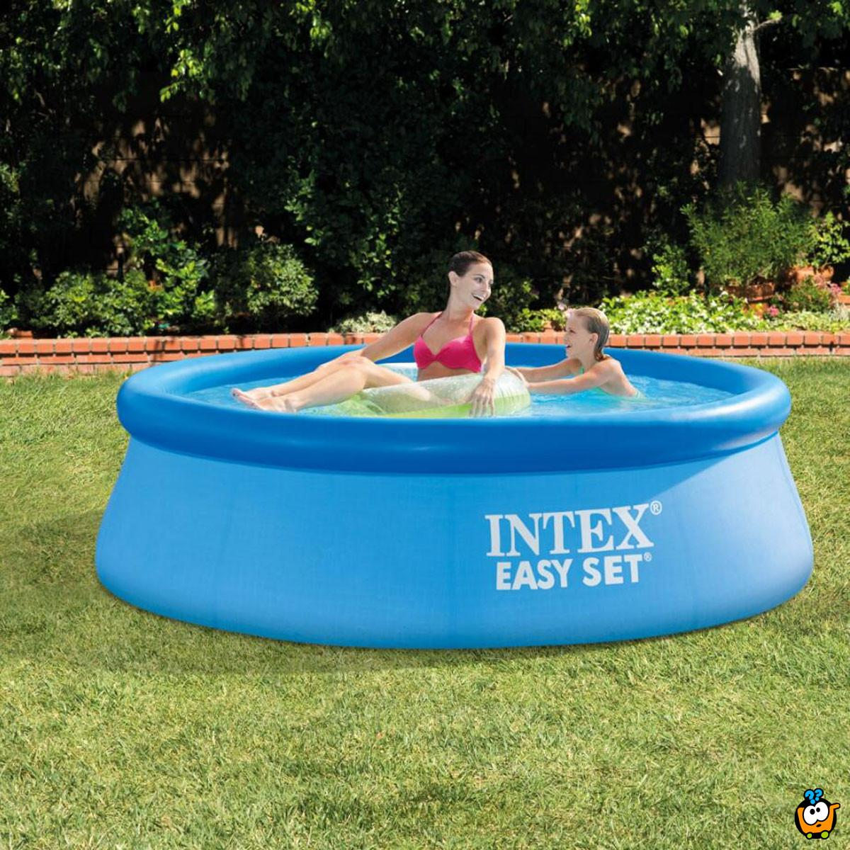 28110 Intex easy set - Porodični bazen na naduvavanje - 244cm x 76cm