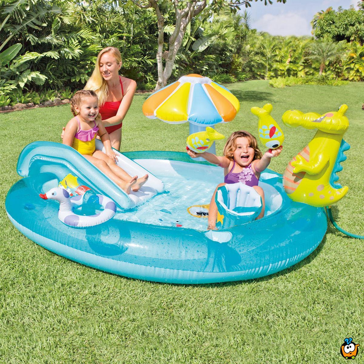 INTEX 57165NP/EP Aligator Play Center - Dečiji aligator igraonica bazen