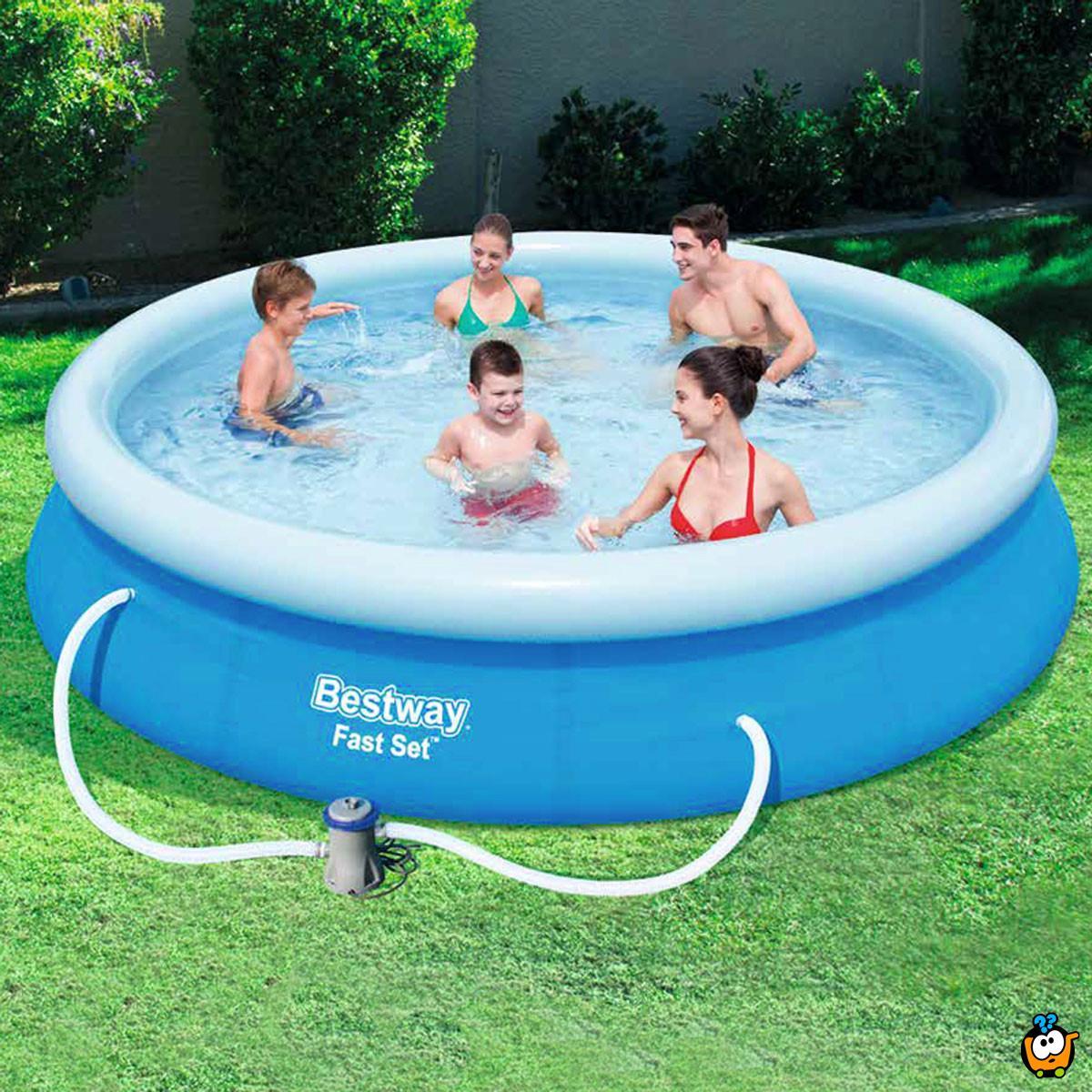57273 Bestway – Porodični bazen na naduvavanje 3,66m x 76cm