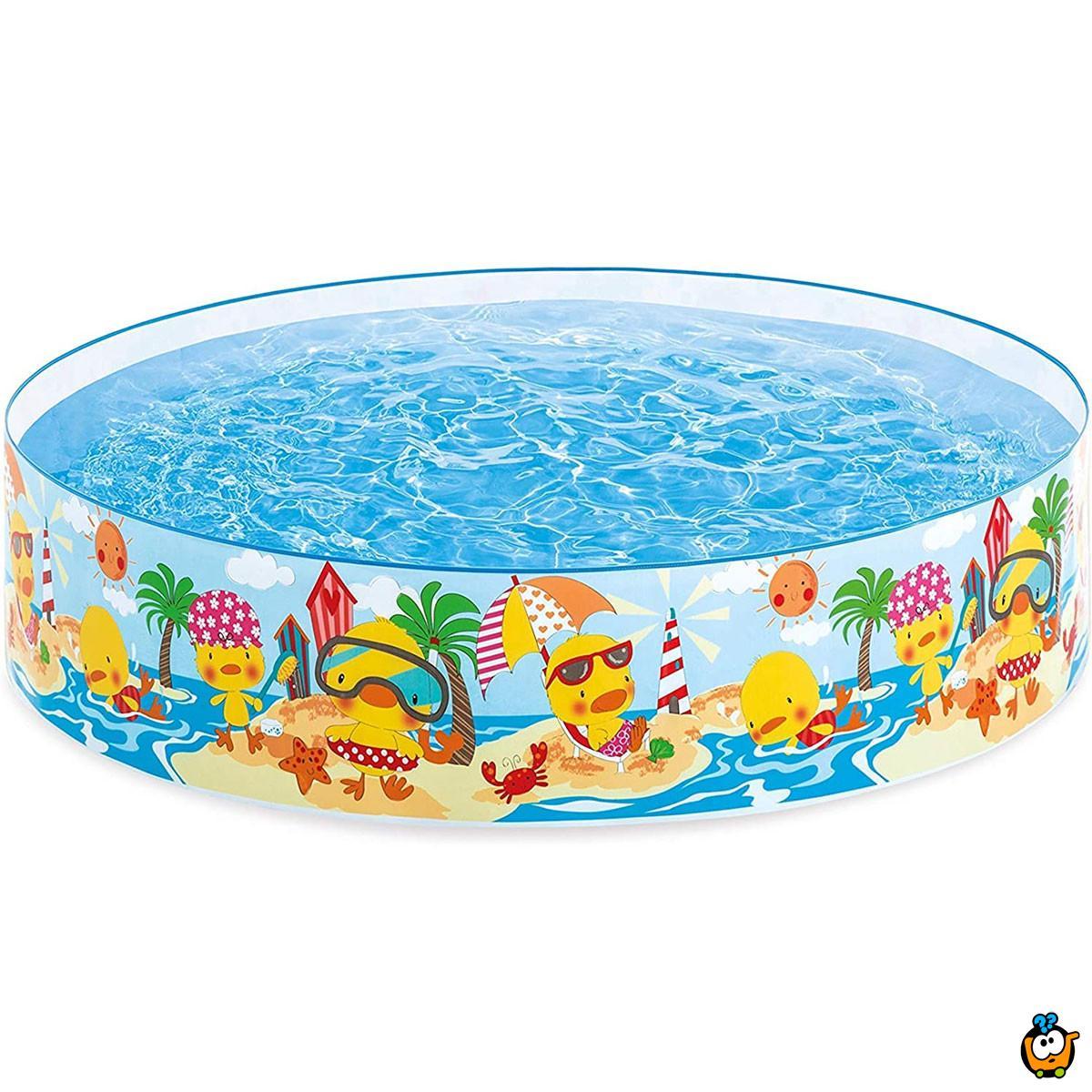 INTEX 58477NP/EP - Ducling Pool - Okrugli bazen pačija družina
