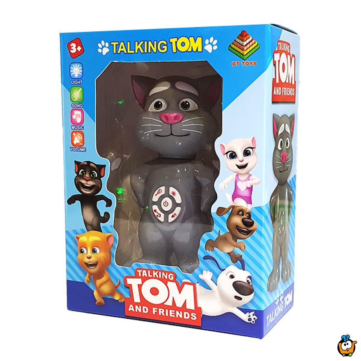 Talking Tom - Mačak Tom sa zvučnim i svetlosnim efektima
