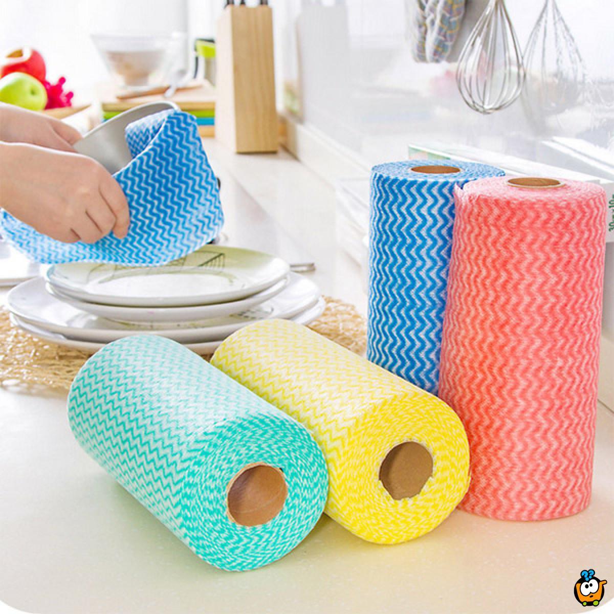 Cleaning cloth - Multifunkcionalna kuhinjska krpa u rolni