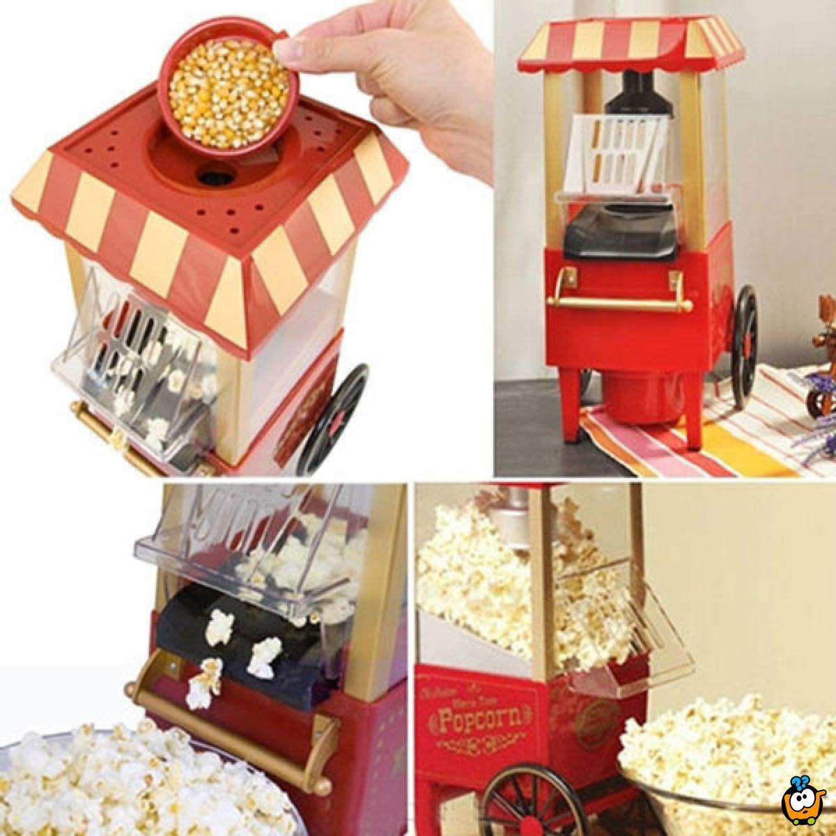 Retro mini mašina za pravljenje kokica