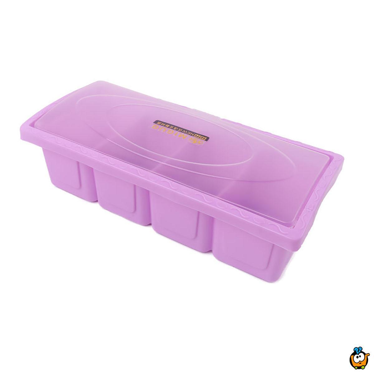 Plastična višenamenska transparentna kutija