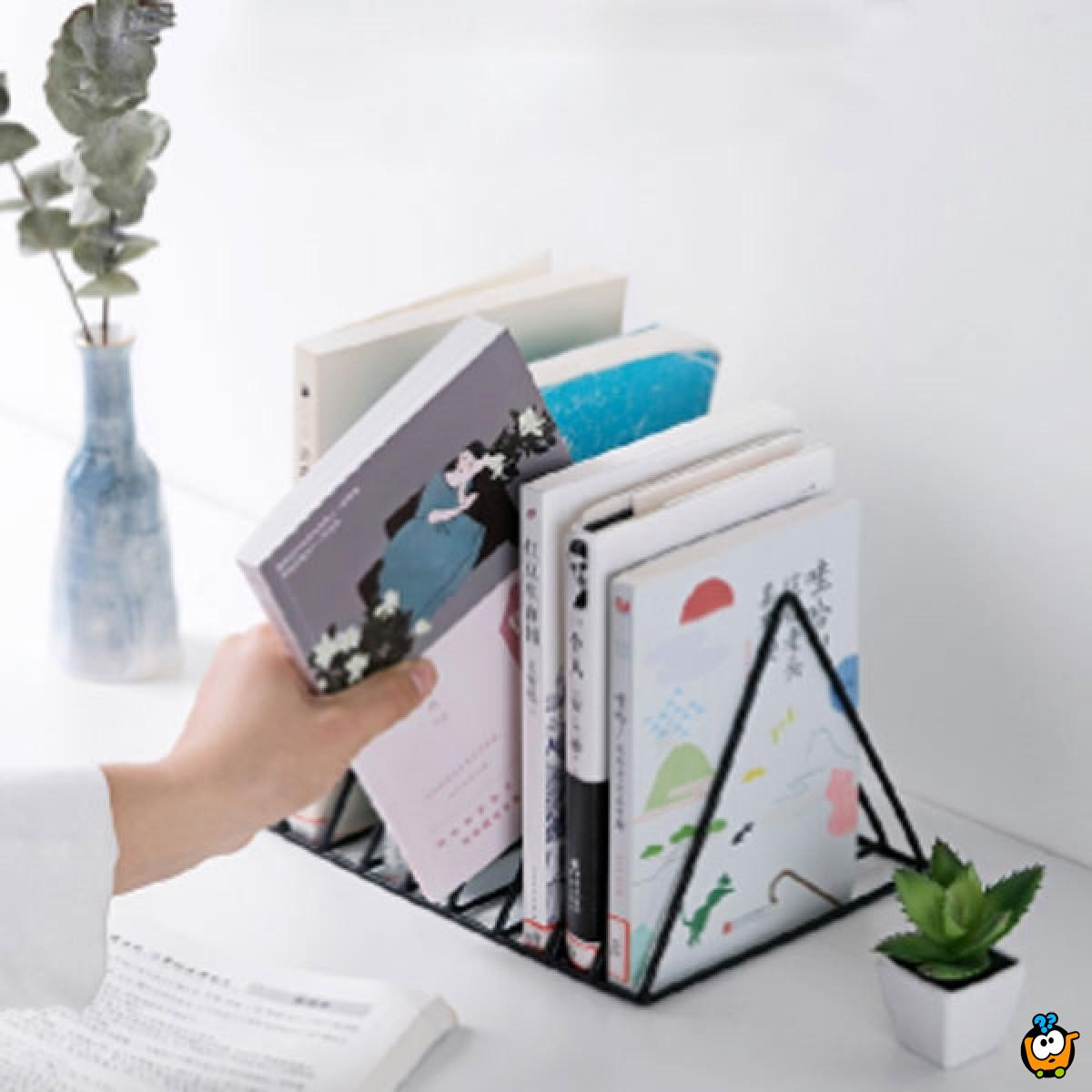 Fantastični trougao - držac knjiga
