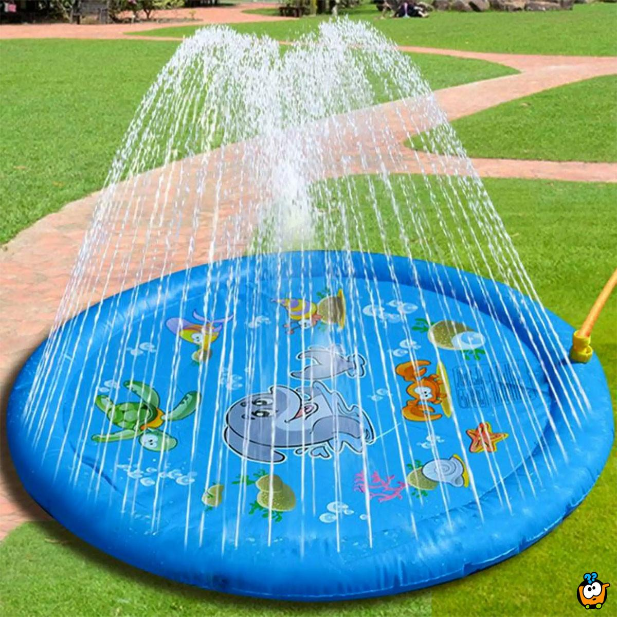 Sprinkler Pad - plitki bazen sa prskalicama za zabavno rashlađivanje