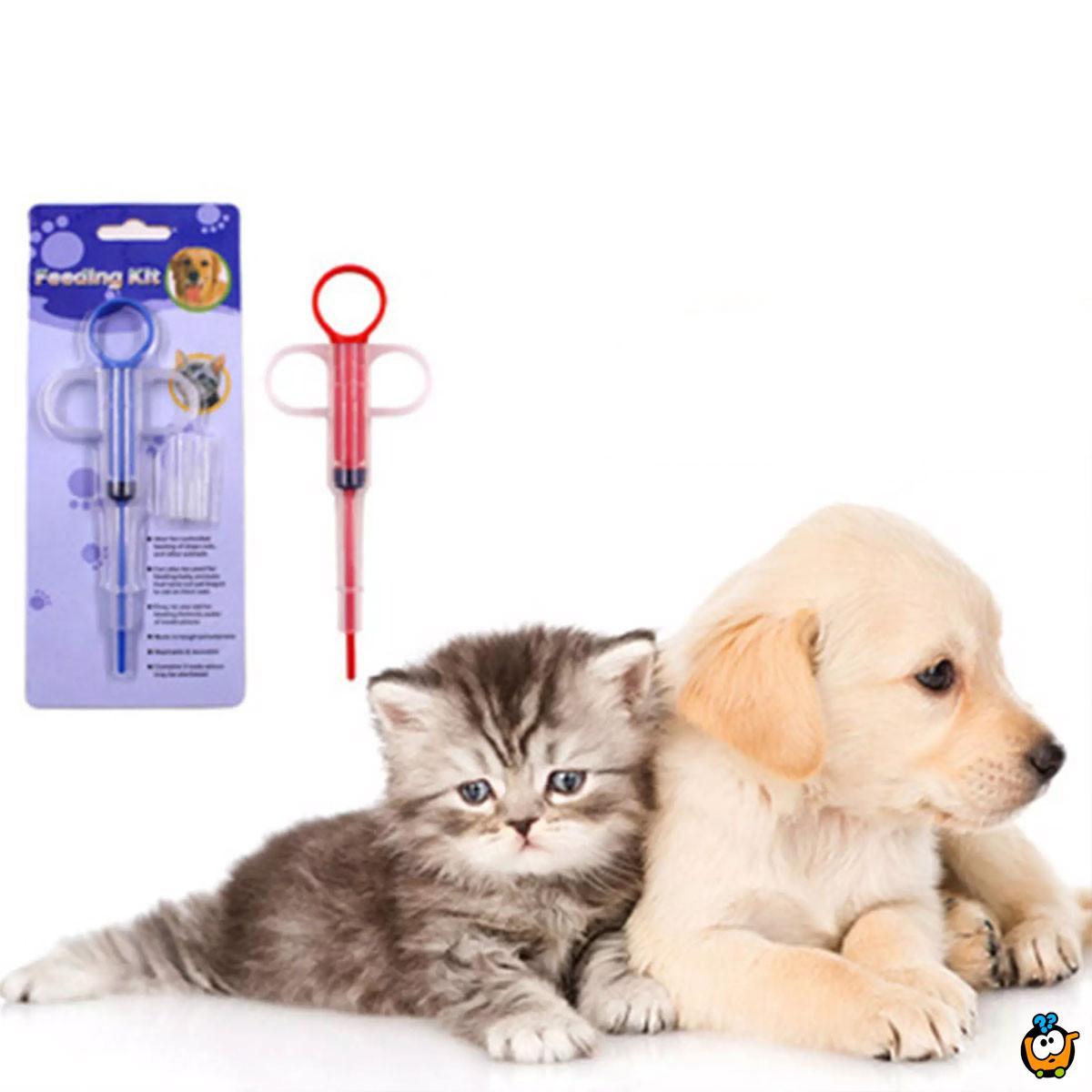 Praktični špric za davanje lekova psima i mačkama