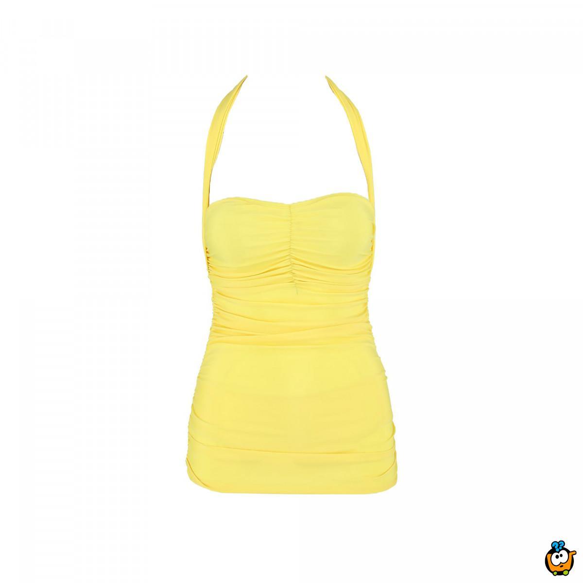 Jednodelni ženski kupaći kostim - ELENOR YELLOW
