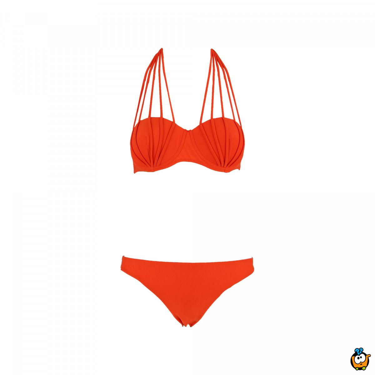 Dvodelni ženski kupaći kostim - BUST UP ORANGE
