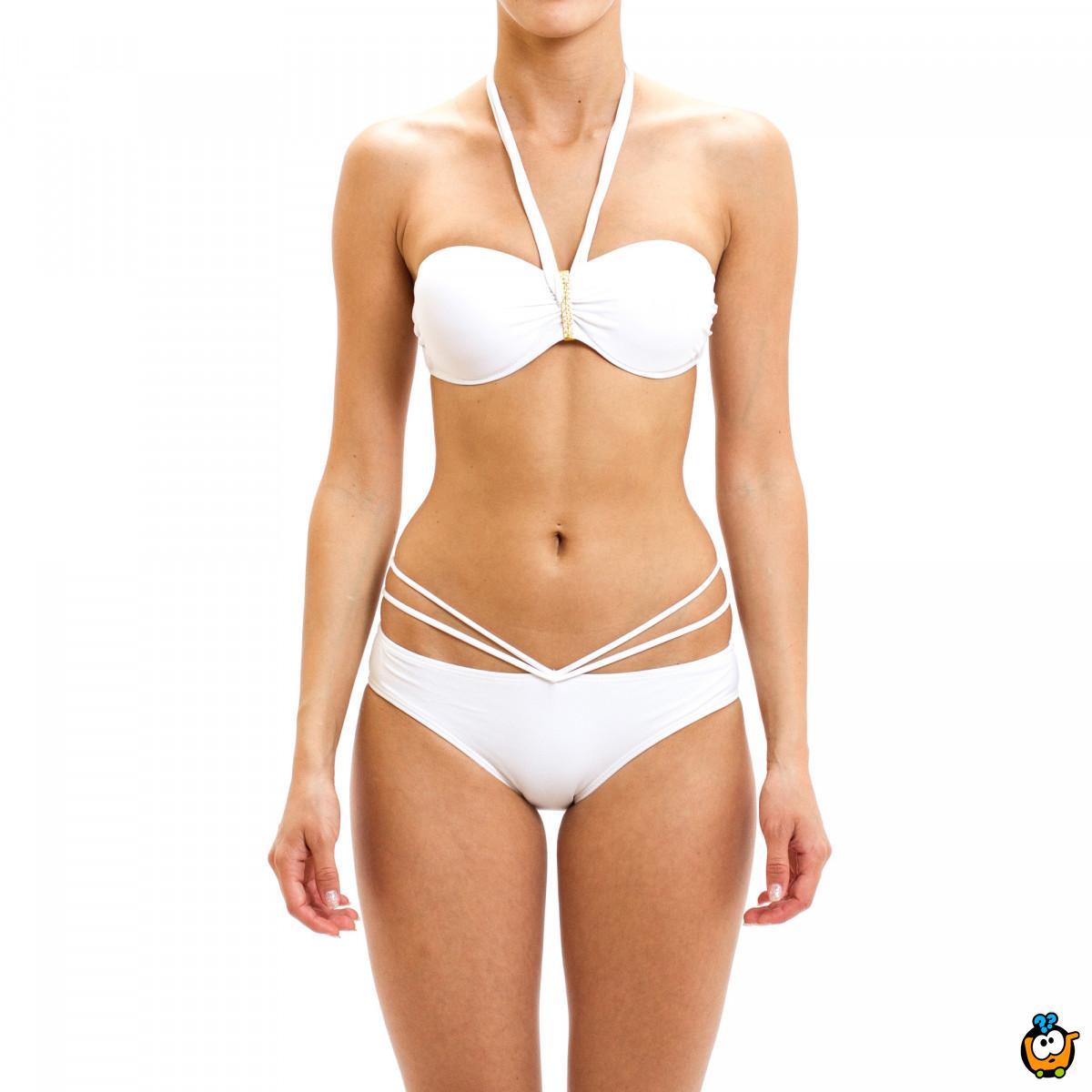 Dvodelni ženski kupaći kostim - MISS-ON WHITE