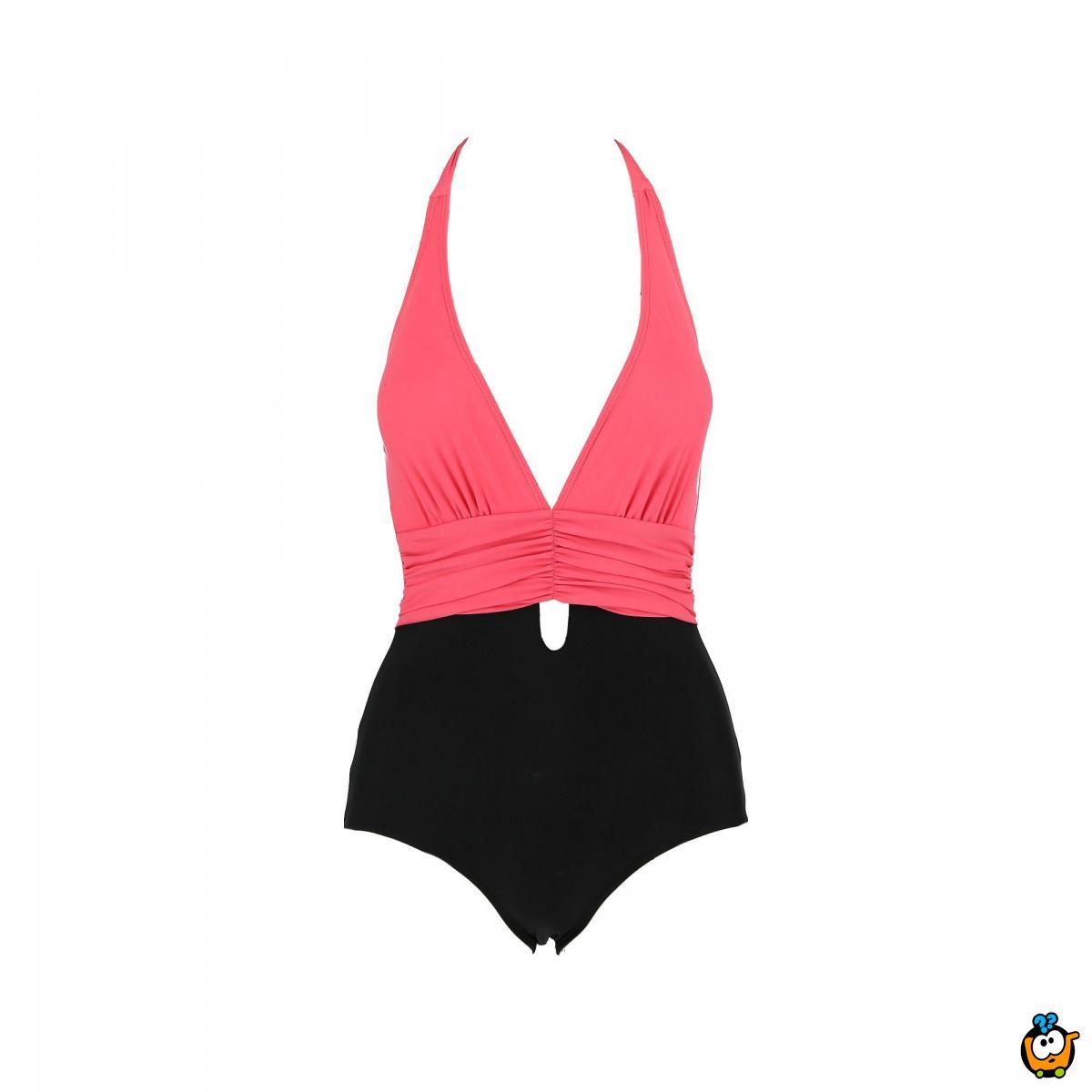 Jednodelni ženski kupaći kostim - 2TOP PINK