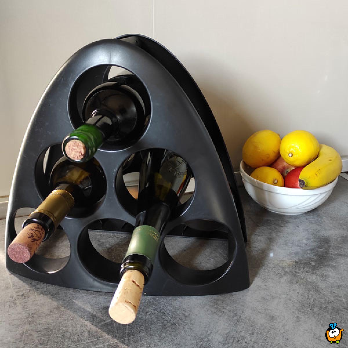 Wine rack - šestostruki stalak za vina