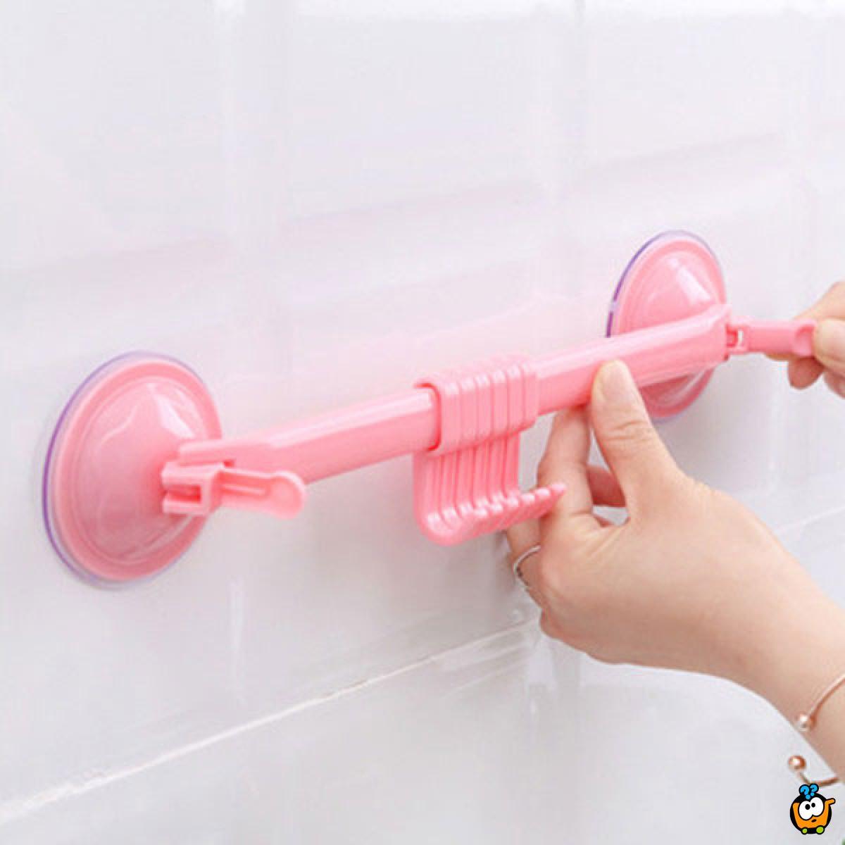 Vakuum držač sa kukicama za zid
