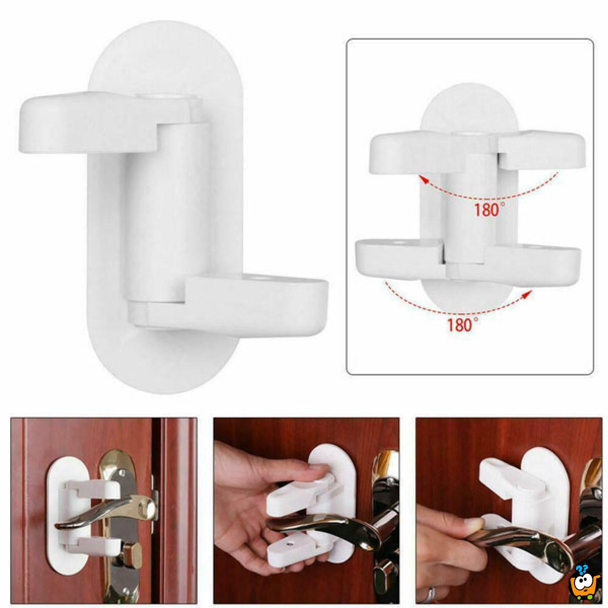 Door lever  lock - Praktična sigurnosna zaštita za vrata