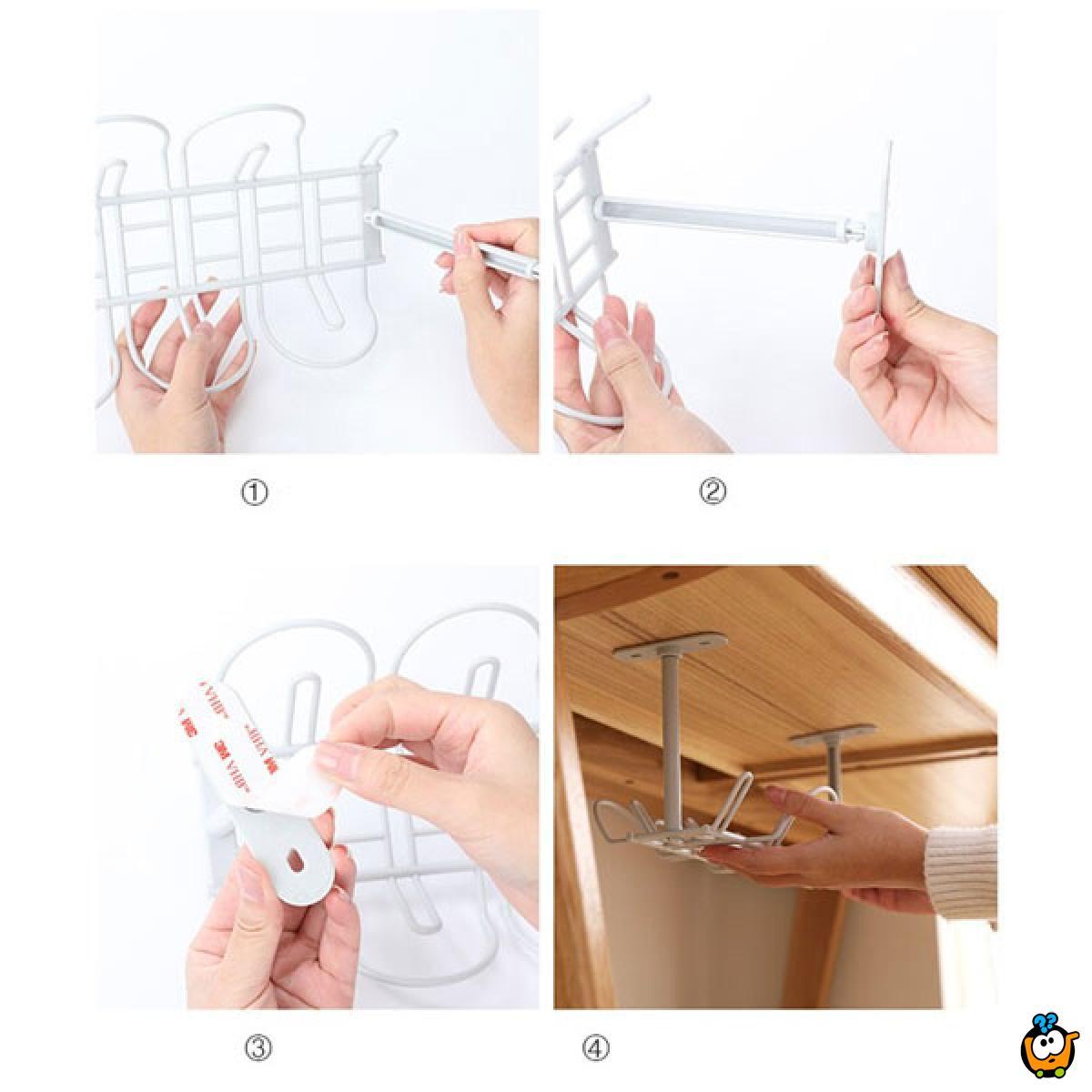 Praktični viseći držac kablova