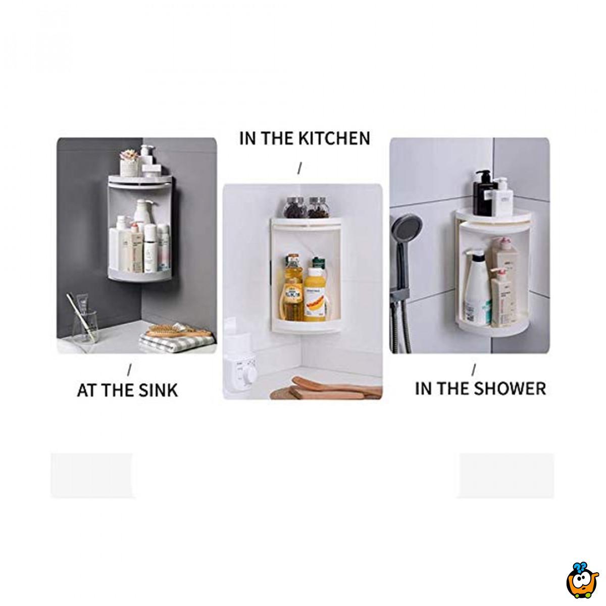 Multifunction Shelf 360-Rotirajući ormarić za kupatilo
