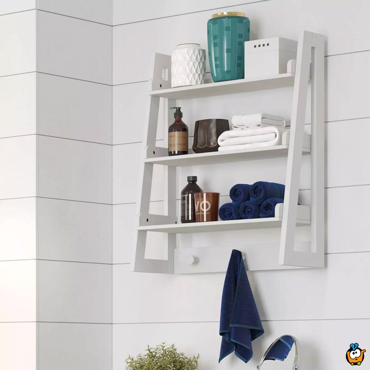 Bathroom Shelf -  Elegantna zidina polica sa 3 pregrade