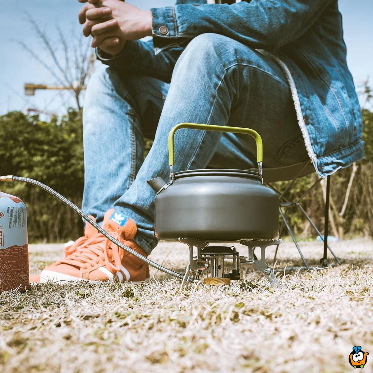 Camping kettle – Prenosivi čajnik za kampovanje