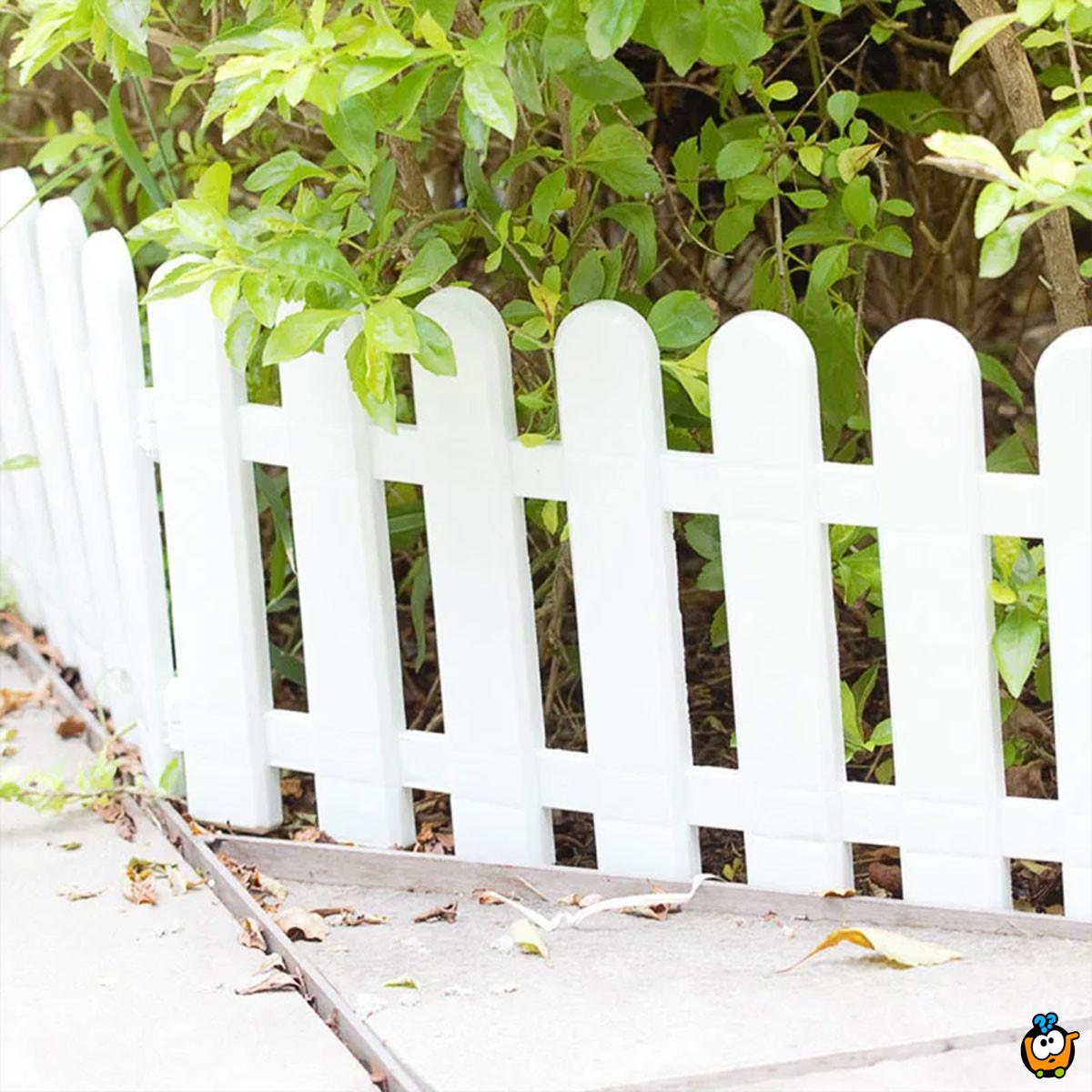 Ukrasne ogradice za baštu, dvorište i terasu