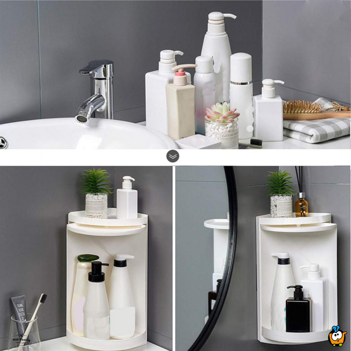 Super rotirajući organizer za kupatilo