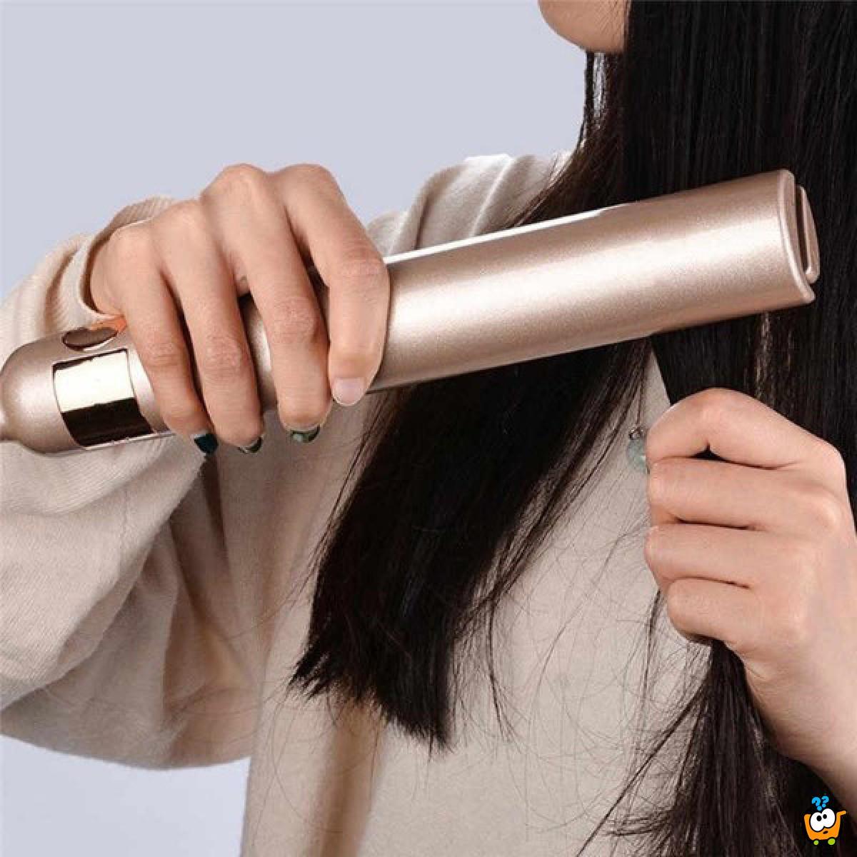2u1 Stajler za ispravljanje i uvijanje kose