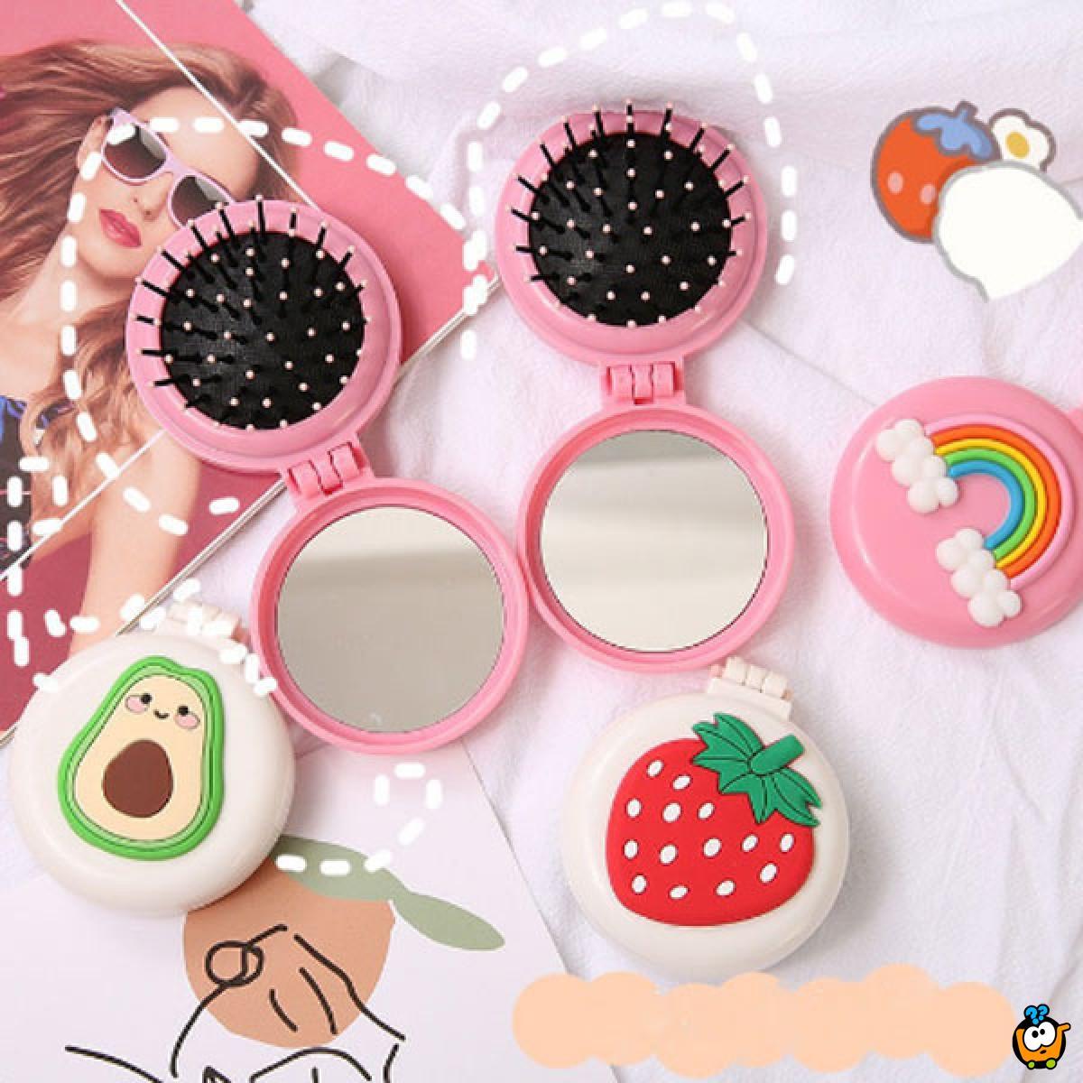 Candy Mirror - 2u1 četka sa ogledalcetom
