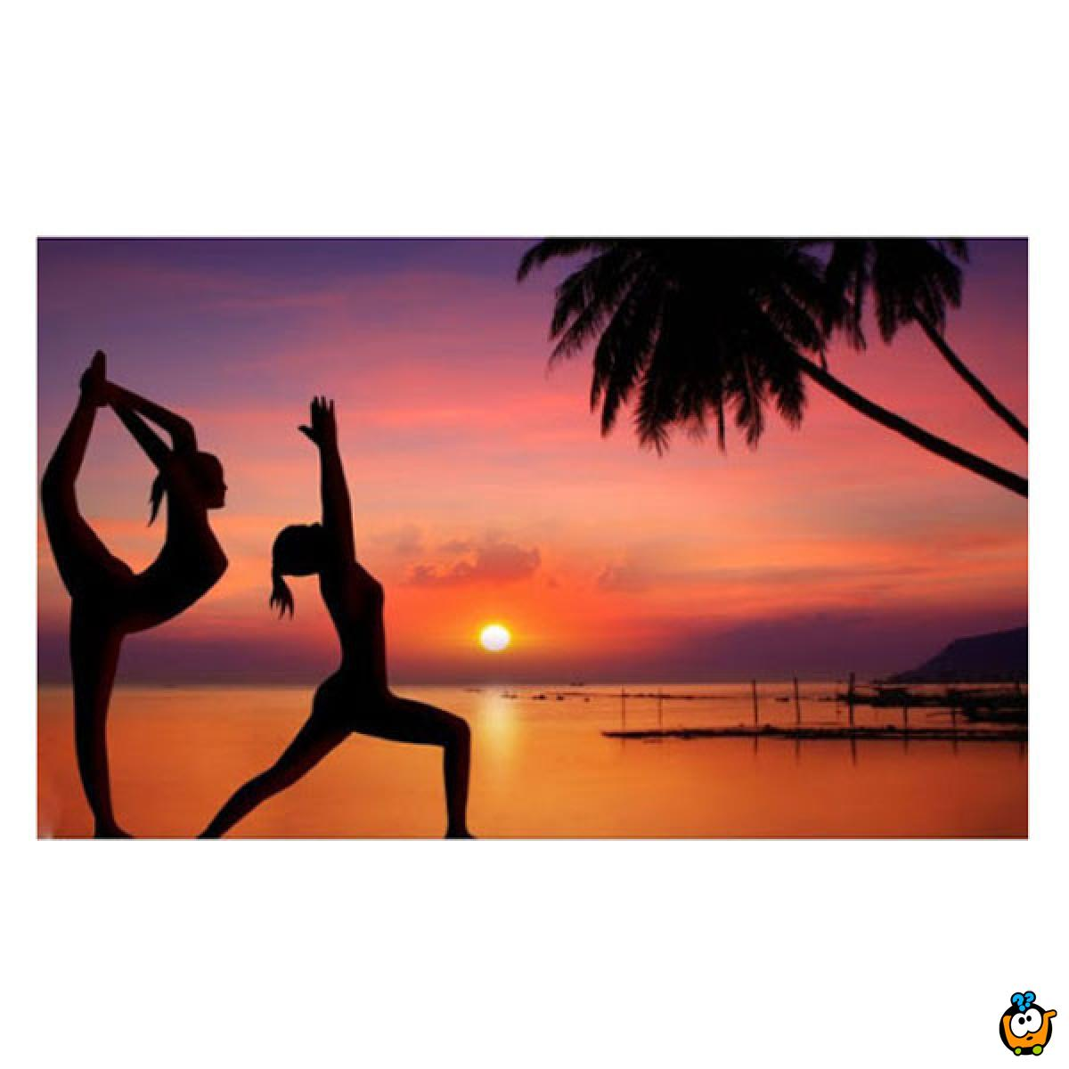 Slim Fit - Komplet helanke i top za trening i jogu