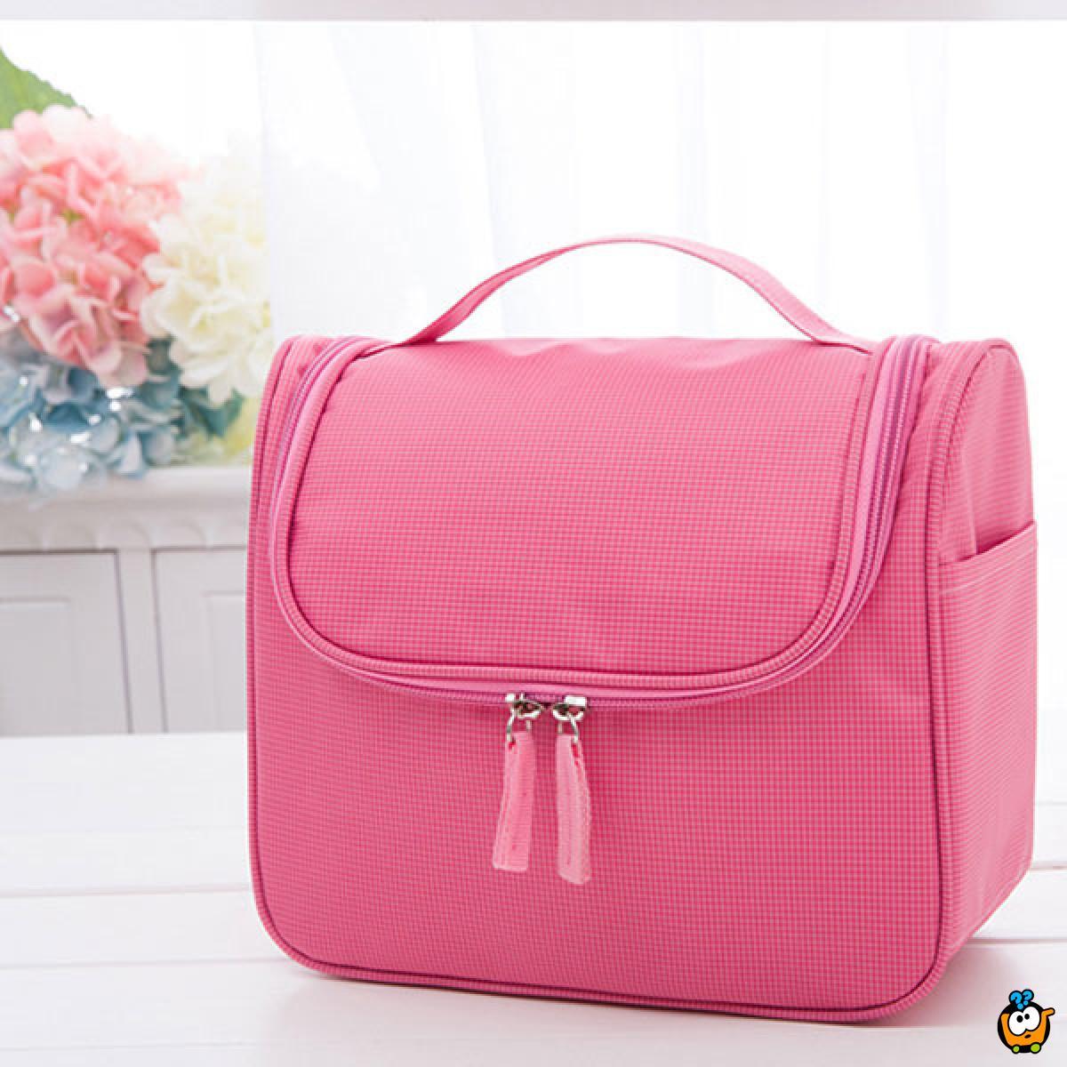 Kozmetički neseser-torbica sa pregradama za uredno skladištenje