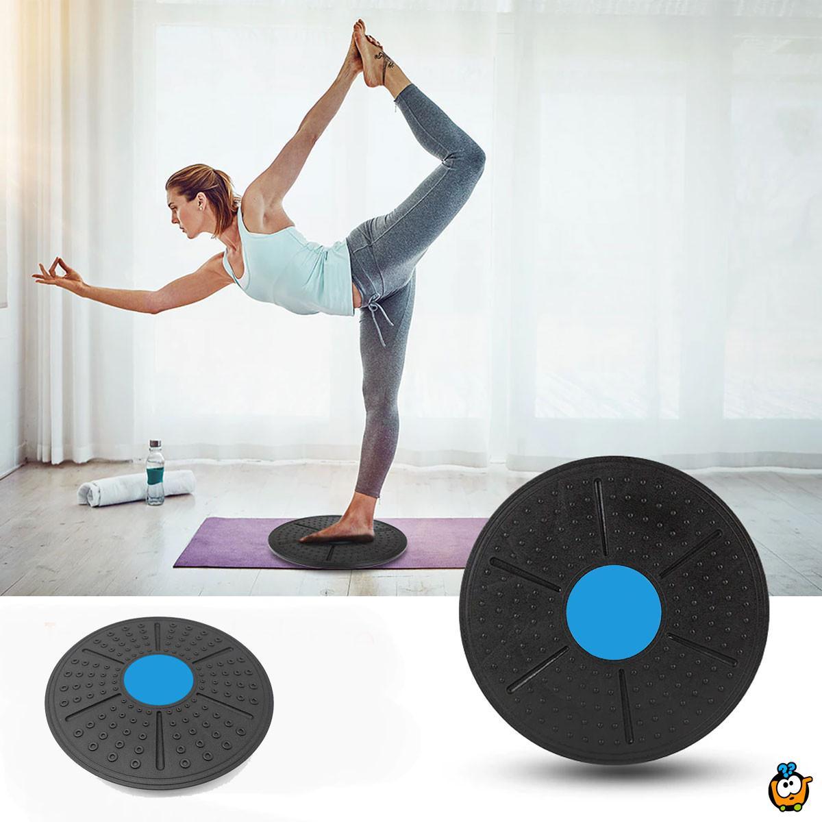 Yoga balance board – Magična balans ploča