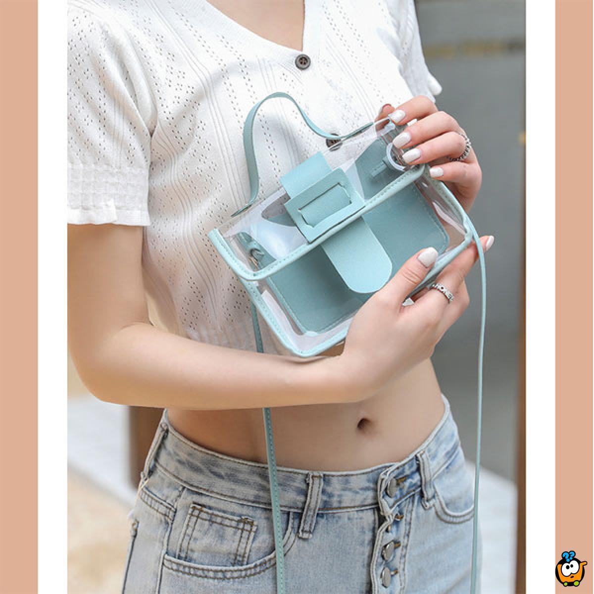 Transparent mini bag - torbica za unikatan stil