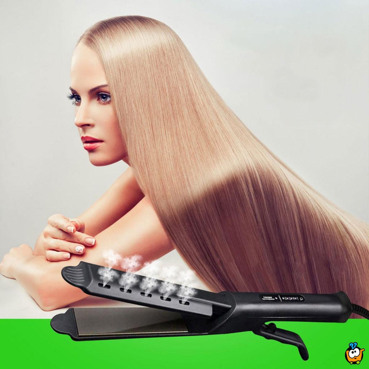 Steam Iron - Pegla za brzo ispravljanje i uvijanje kose