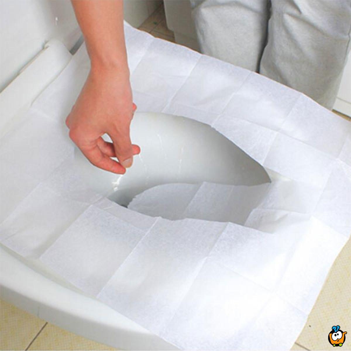 Toilet Covers -10 papirnih zaštita za wc šolju