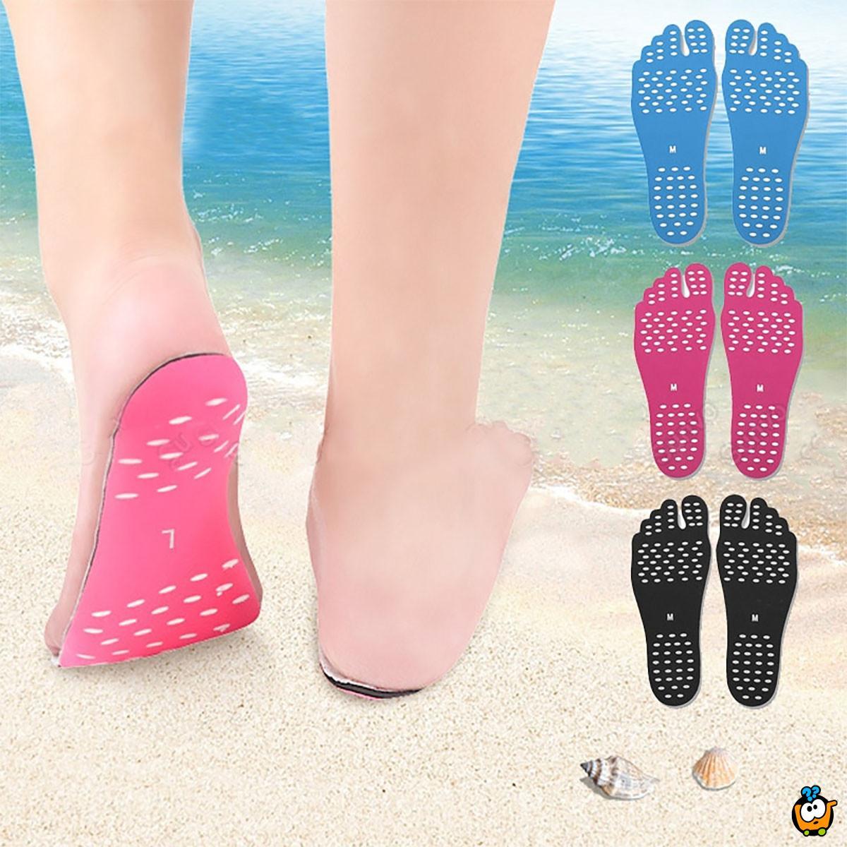 Vodootporni silikonski ulošci za zaštitu stopala