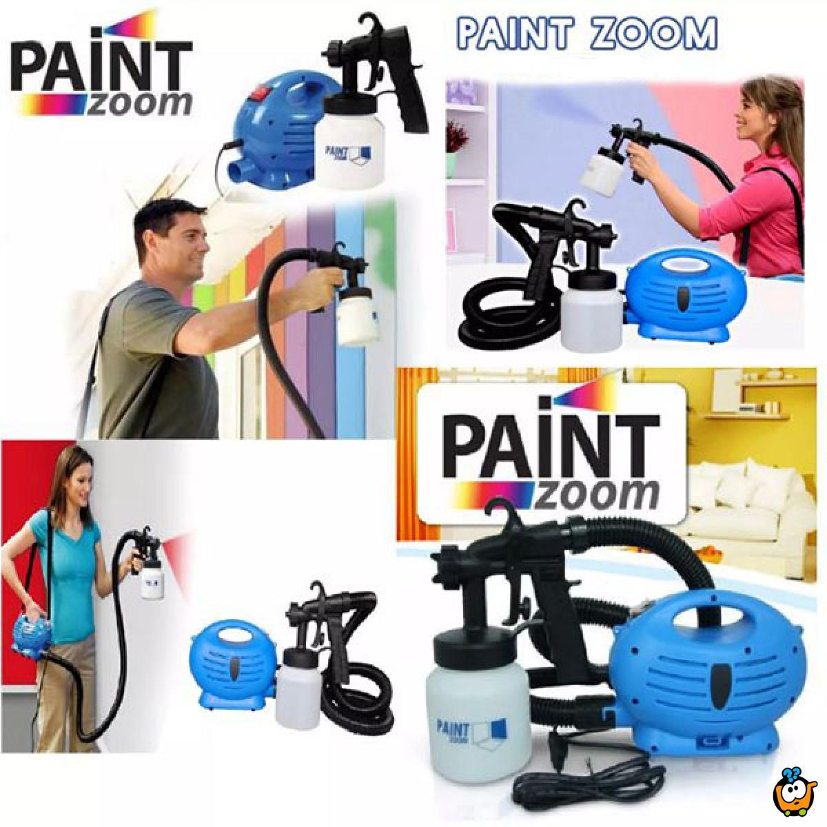 Paint Zoom - Boca sa rasprašivačem za lako krečenje