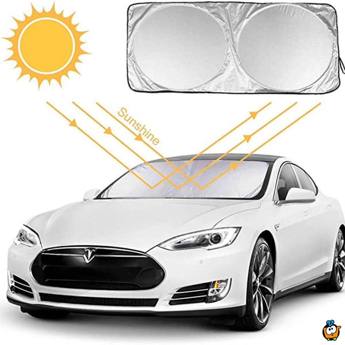 Set od 6 auto zaštita od sunca