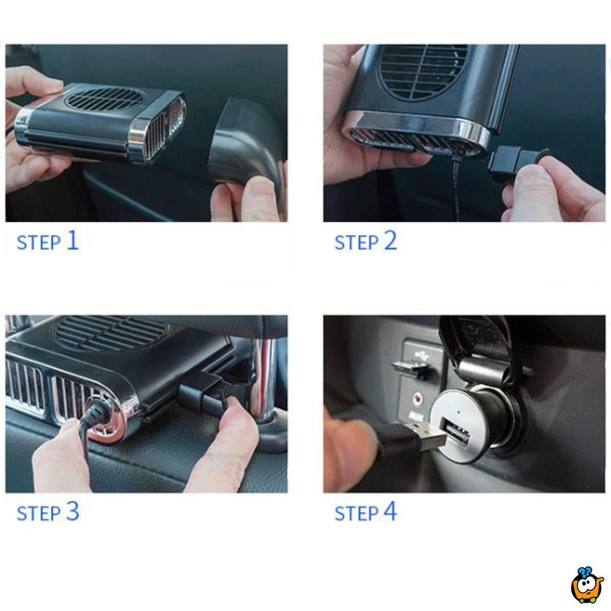 Auto Cooler - USB Ventilator za auto sedište