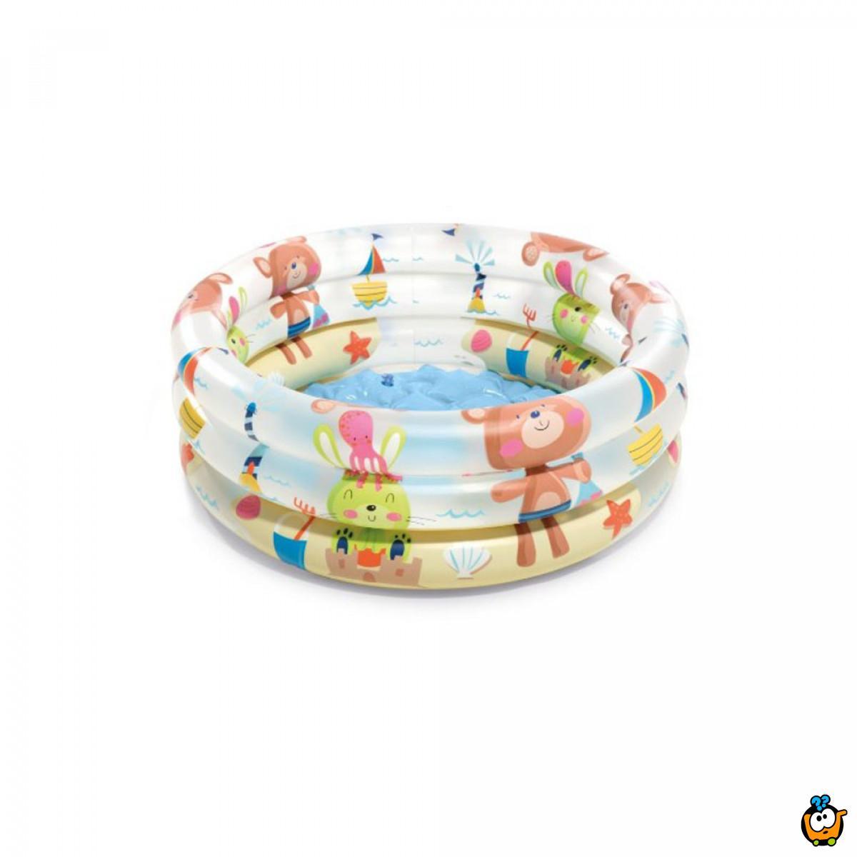 INTEX 57106NP/EP 3-Ring baby pool - Bebi bazen, mede i družina