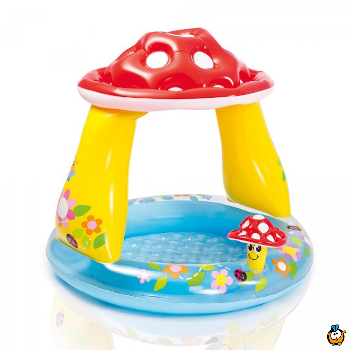 INTEX 57114NP/EP Mushroom Baby Pool - Bebi bazen u obliku pečurkice
